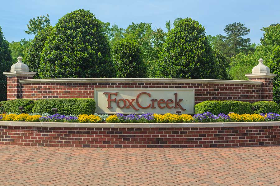 Fox Creek Community living.