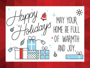 Happy Holidays! in Richmond, VA.