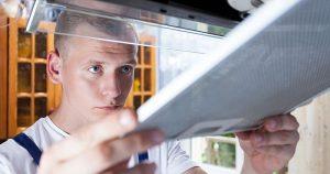 Make an annual home maintenance checklist in Richmond, VA.